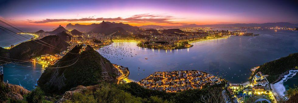 Rio de Janeiro as seen from Sugar Loaf Mountain