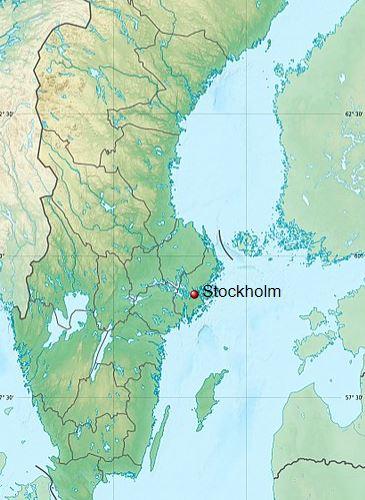 Stockholm, the capital of Sweden