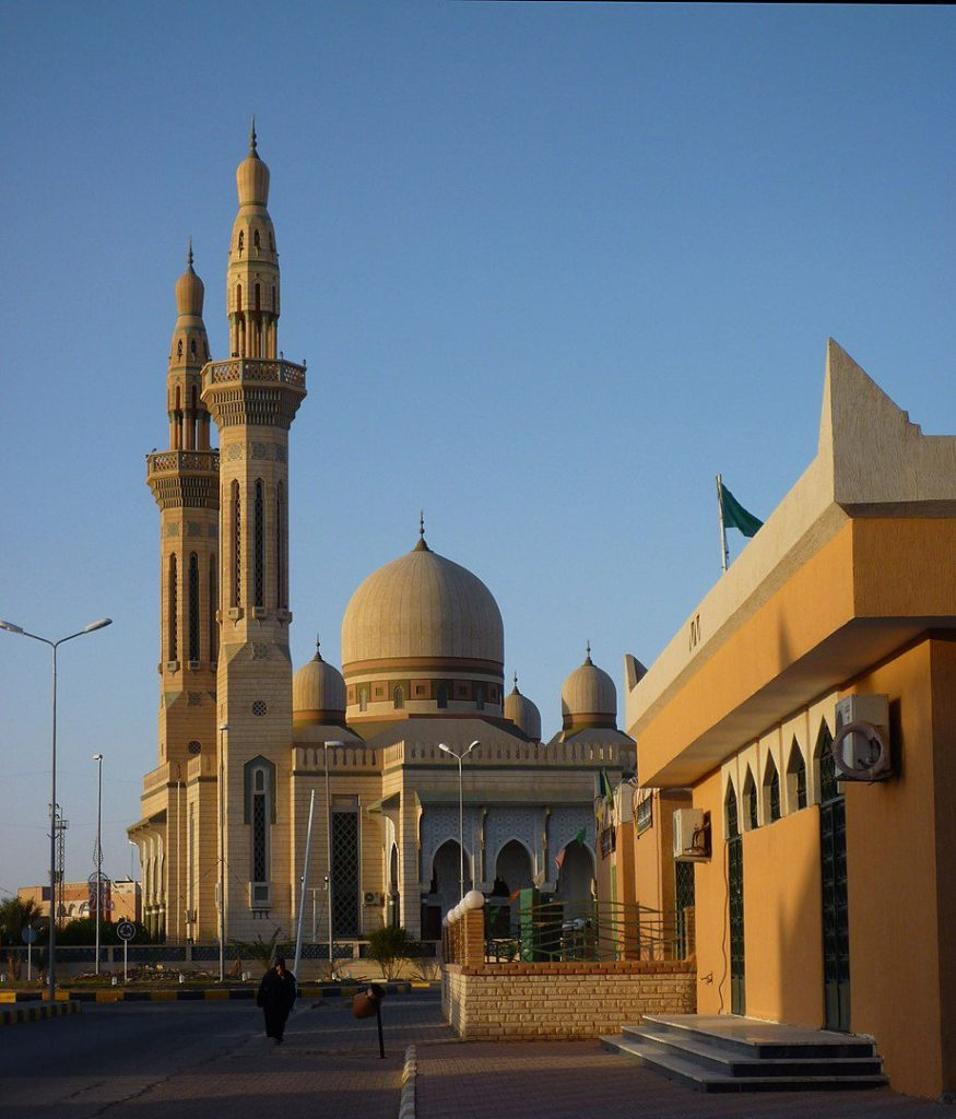 Mosque in Ghadames, close to the Tunisian and Algerian border.