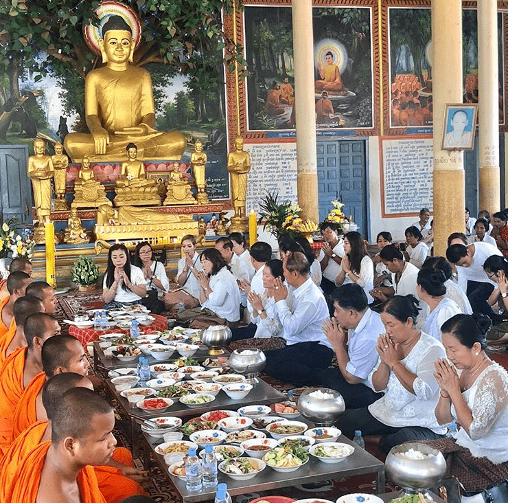 "Pchum Ben, also known as ""Ancestors Day"", is an important religious festival celebrated by Khmer Buddhists."