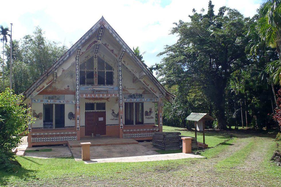 A traditional Palauan house