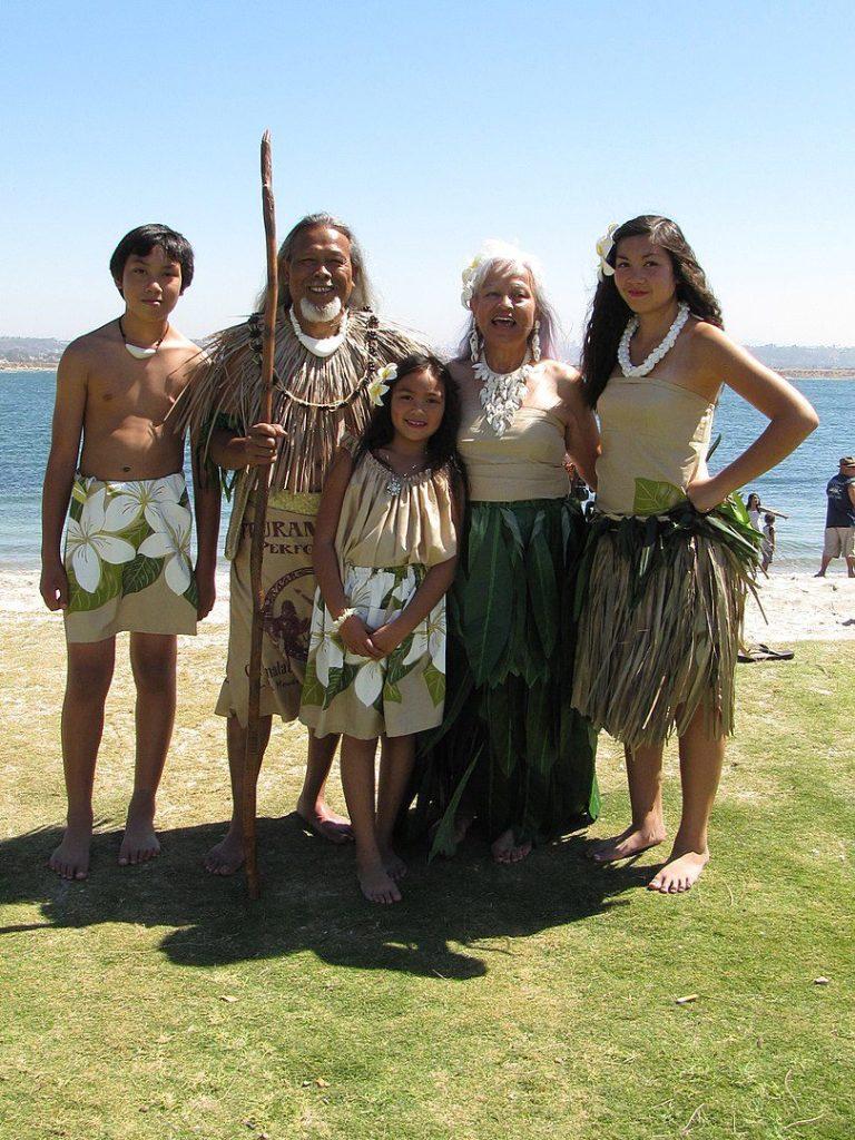 Native Chamorro performers