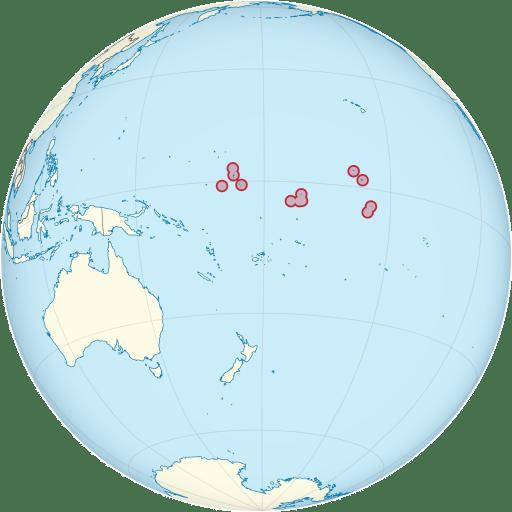 Kiribati location
