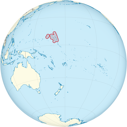 Marshall Islands location