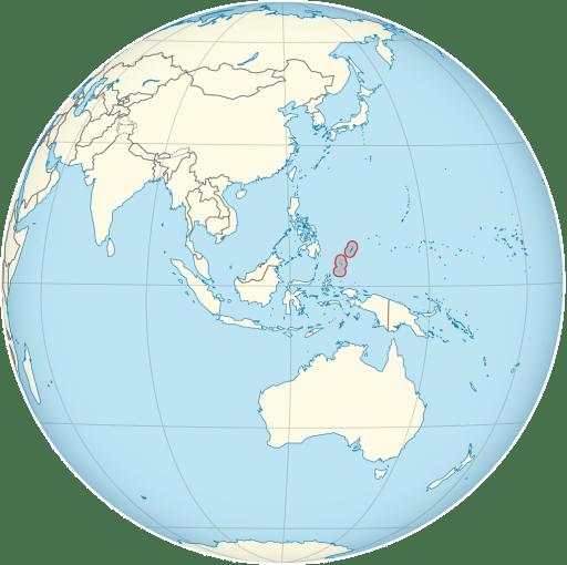 Palau location