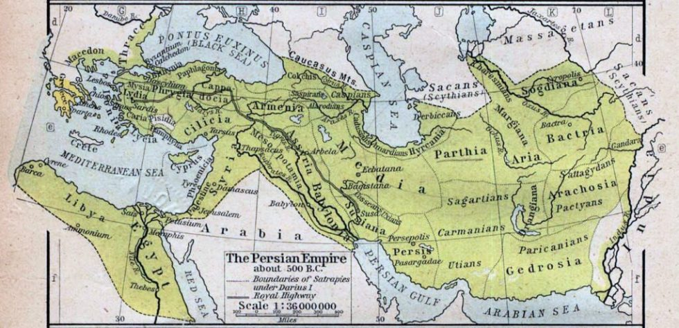 Persian Empire in the Achaemenid era, 6th century BC
