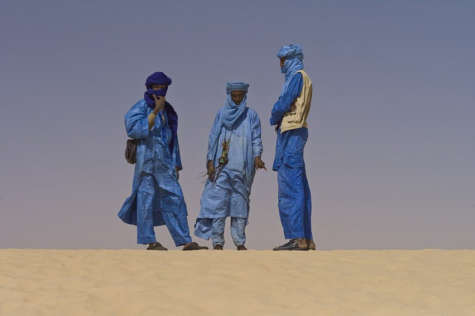 Taureg men near Timbuktu