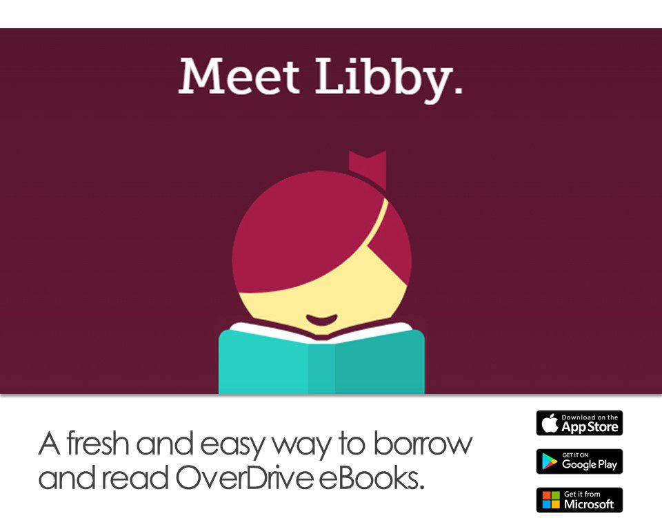 Libby app through OverDrive
