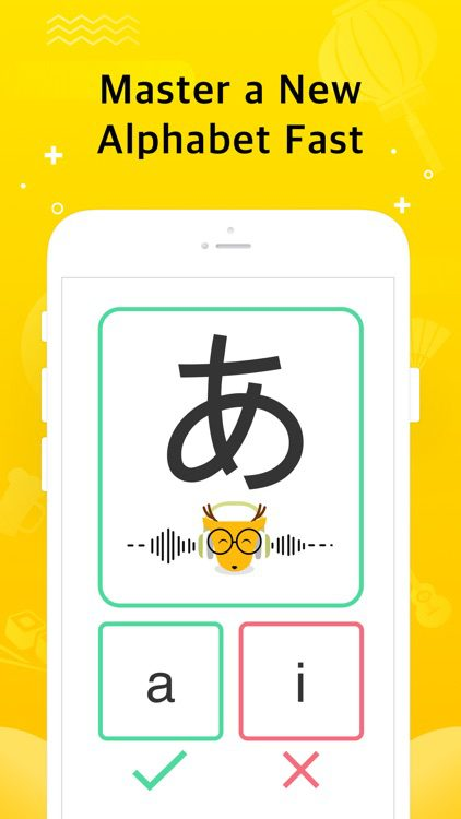 Master the Japanese alphabet with Lingo Deer