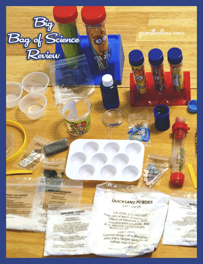 Science kit for kids review
