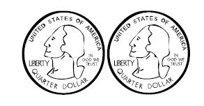 Coin clipart for worksheets