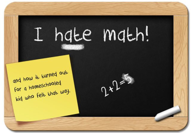 Homeschool math curriculum