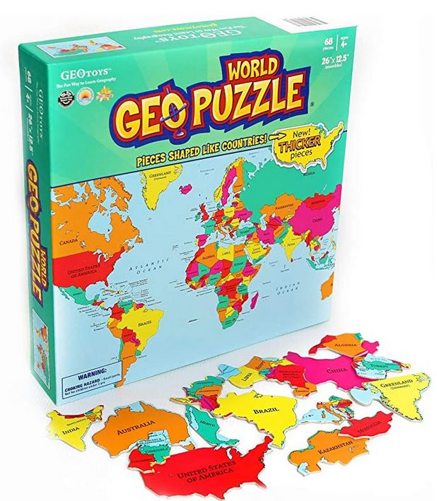 Geography puzzle