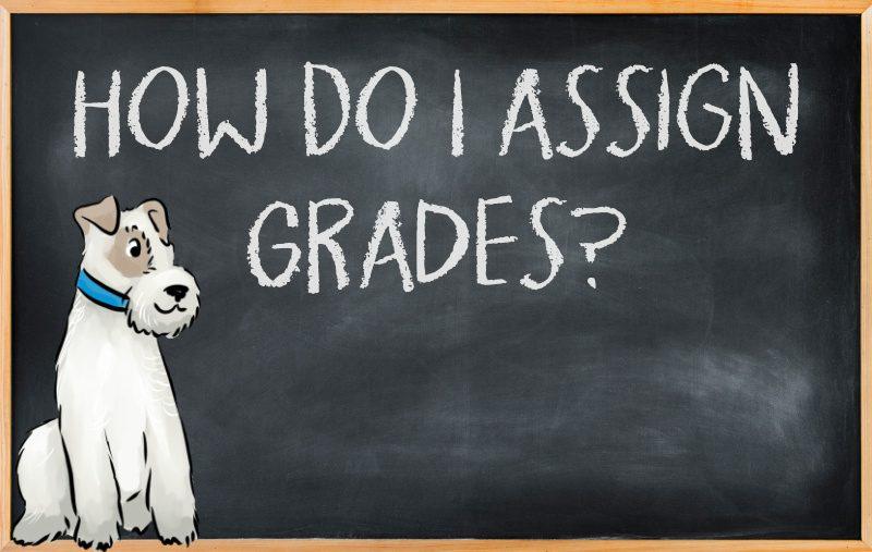 How do I assign grades?