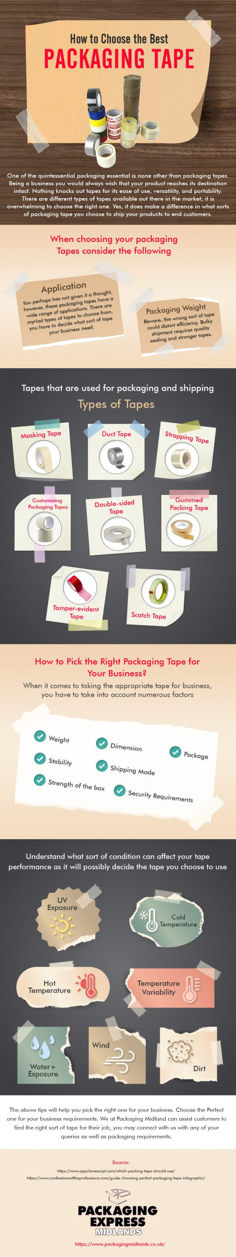 Packaging-Tape-Selection