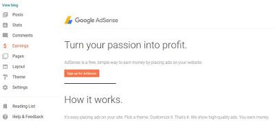Qualify Blogger for Adsense