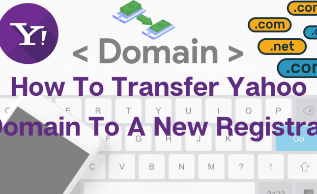 transfer yahoo domain to new registrar