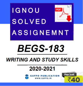 ignou begs-183 solved assignment