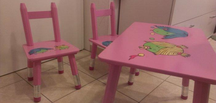 Pet djeci omiljenih stolica