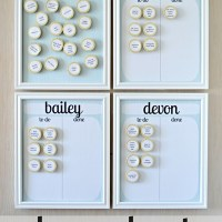 Easy DIY Kid's Chores Chart