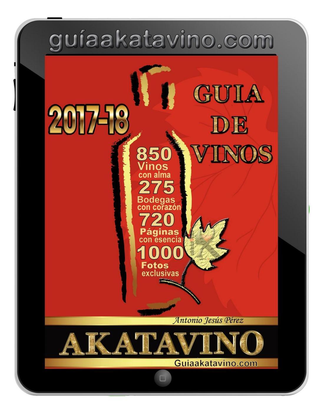 Portada Guia AkataVino 2017 2018 v2 © Guiaakatavino.com