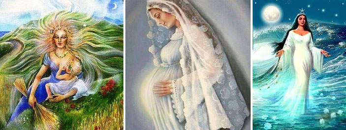 guia-da-alma-arquétipo da mãe-demeter-virgem-maria-iemanja-deusas