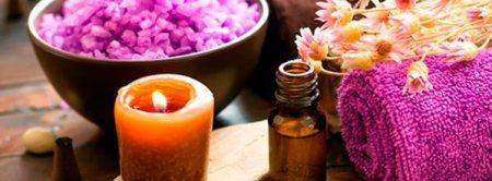 aromaterapia com velas, sais e óleos essenciais