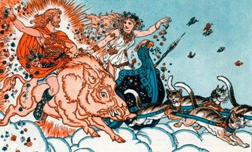 Frey Freyja deuses nórdicos