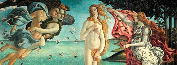 O Nascimento de Vênus, de Sandro Botticelli