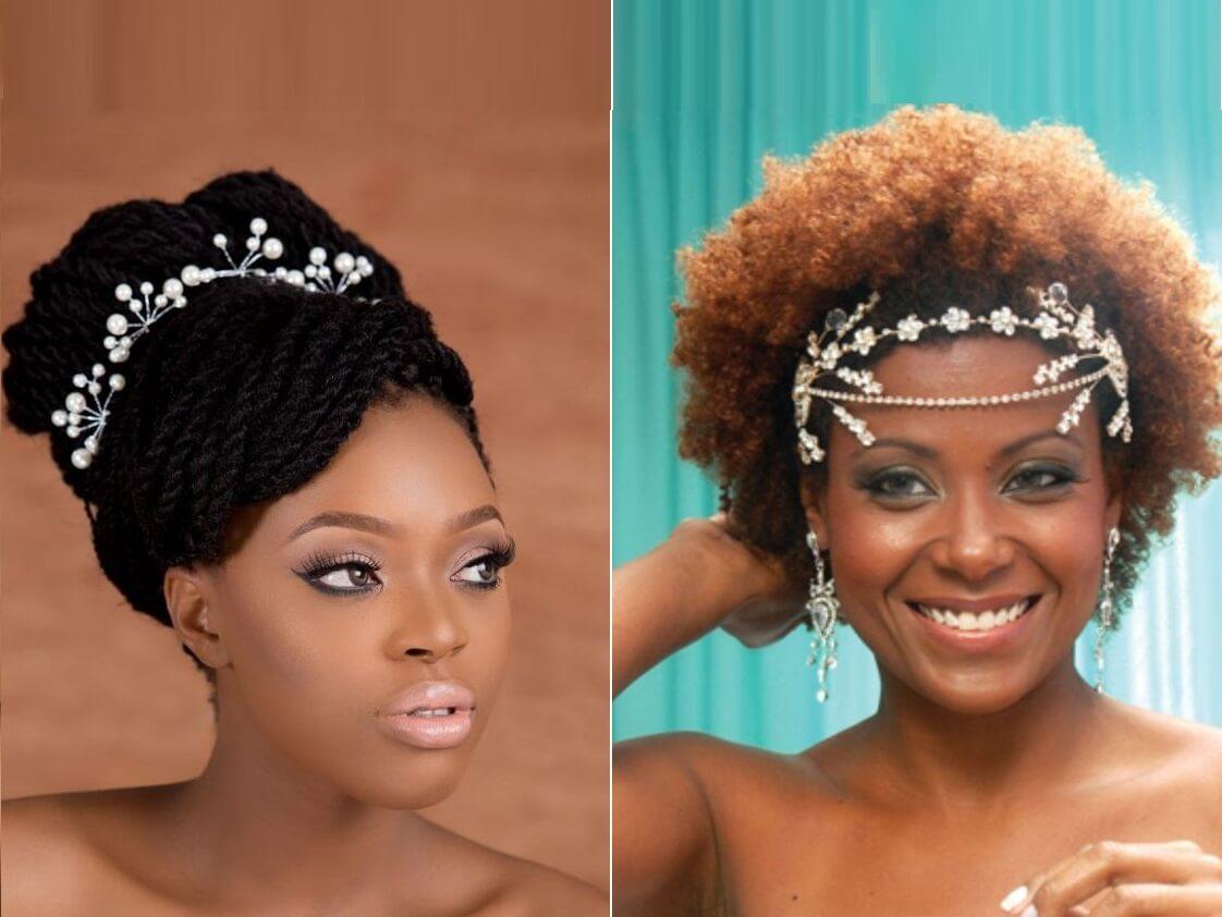 Inspirações Lindas De Penteados De 15 Anos Para Cabelos Afros
