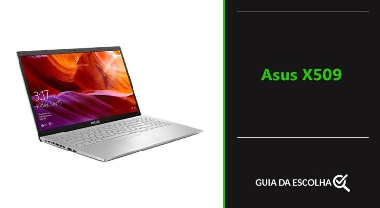 modelo de notebook Asus X509