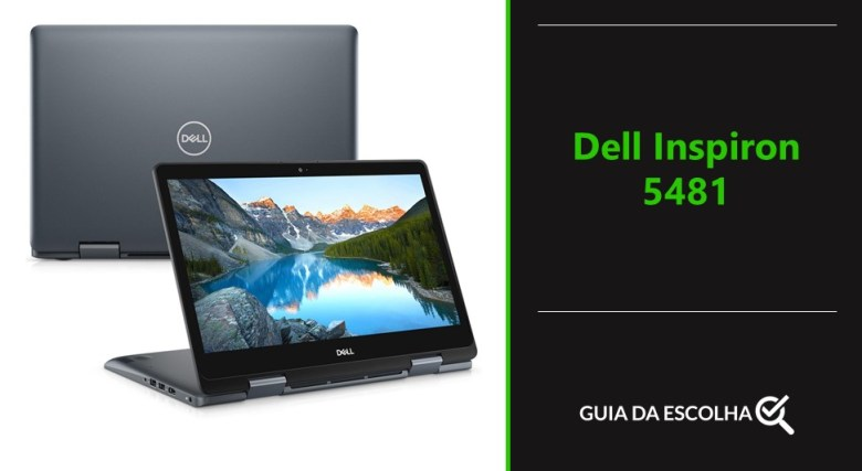 notebook modelo Dell Inspiron 5481