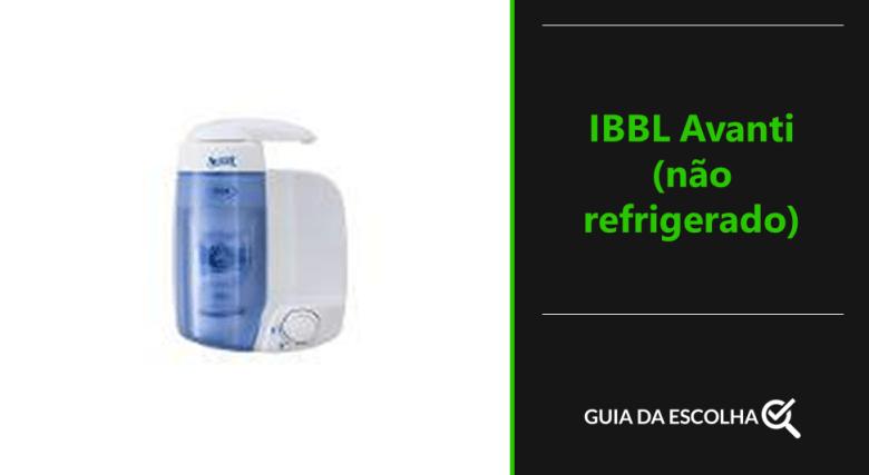 purificador de água IBBL Avanti (não refrigerado)