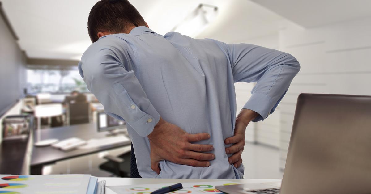 dor nas costas após cirurgia intestinal