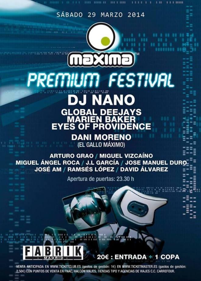 maxima premium 2014