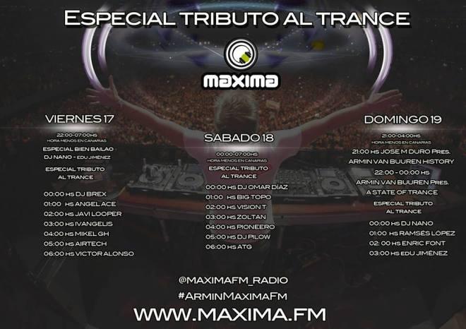 maxima fm armin trance