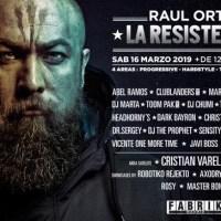 LA RESISTENCIA @ FABRIK 16-03-2019