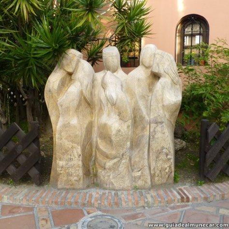 Escultura de Artísta Sirio en el Parque del Majuelo