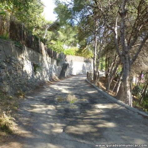 Camino de Berenguel, Punta de la Mona, La Herradura.