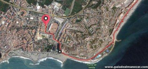 Playa Velilla, Parque Acuático AquaTropic, Fuentepiedra, Muelle y Playa Puerta del Mar