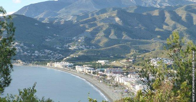 Bahía y Playa de La Herradura.