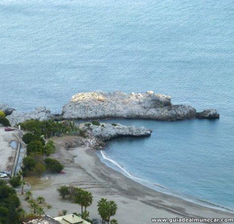 Playa de Marina del Este, La Herradura, Almuñécar.