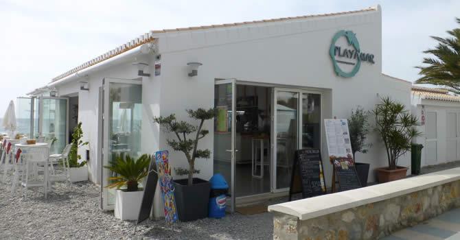 Chiringuito Playamar, Playa Velilla, Almuñécar.