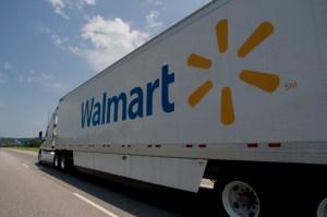 camión walmart