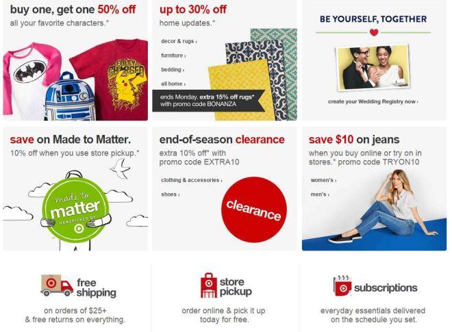Target ofertas vent online