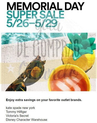 Memorial Day Sales International Premium Outlets 2017