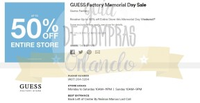 Memorial Day Sales International Premium Outlets 2017_15