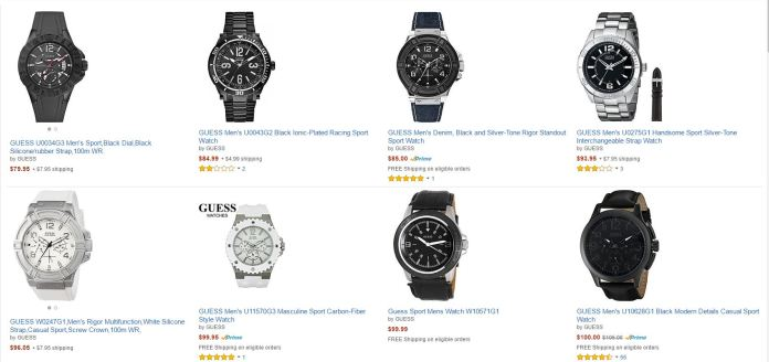 Reloj Guess Amazon