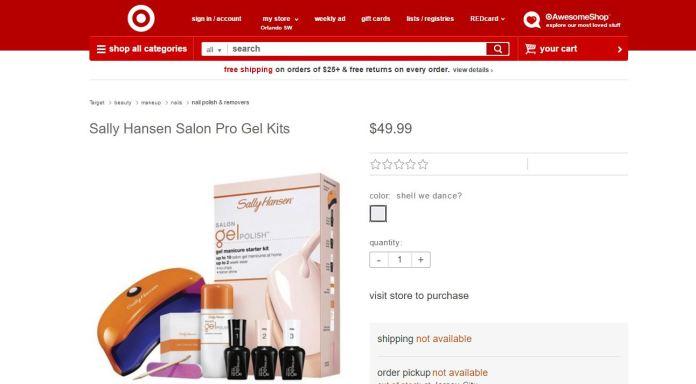 Sally Hansen Target5