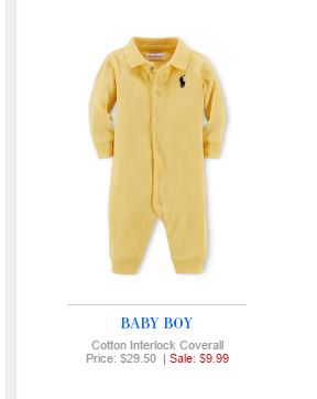 Baby Boy Polo Ralph Lauren 7